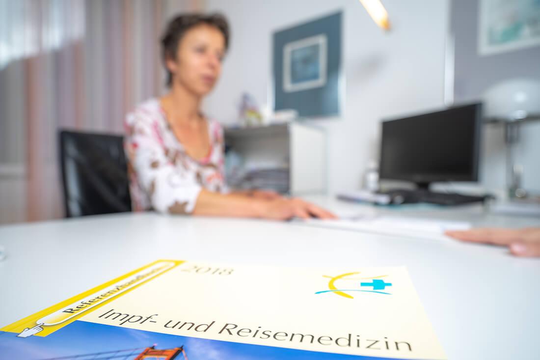 Frauenärztin Troisdorf - Dr. Bellinghausen - Leistungen - Reisemedizin und Impfen