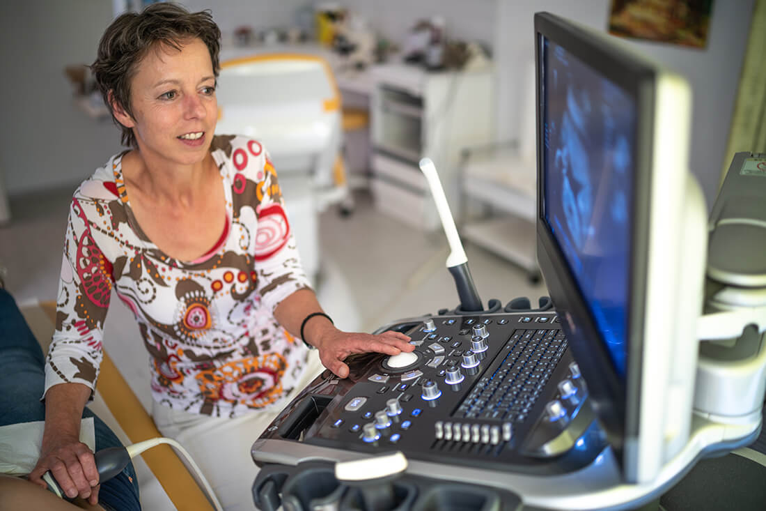 Frauenärztin Troisdorf - Dr. Bellinghausen - Leistungen - Brustultraschall